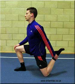 Psoas and Quadricep stretch