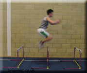 Hurdle hopping